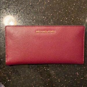 Slim wallet from Michael Kors